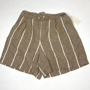 NWT A New Day Belted High Rise Shorts
